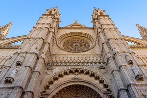The Cathedral of Saint Mary in Palma de Mallorca